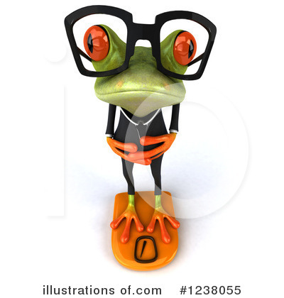 Green Frog Clipart #1238055 by Julos