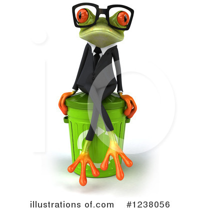 Green Frog Clipart #1238056 by Julos