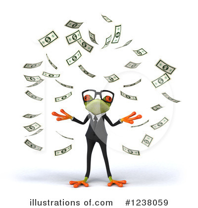 Green Frog Clipart #1238059 by Julos