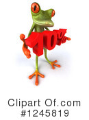 Green Frog Clipart #1245819 by Julos