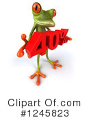 Green Frog Clipart #1245823 by Julos