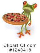 Green Frog Clipart #1248418
