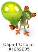 Green Frog Clipart #1262295 by Julos