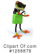 Green Frog Clipart #1268878 by Julos