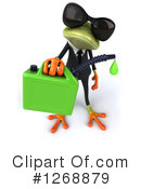 Green Frog Clipart #1268879 by Julos