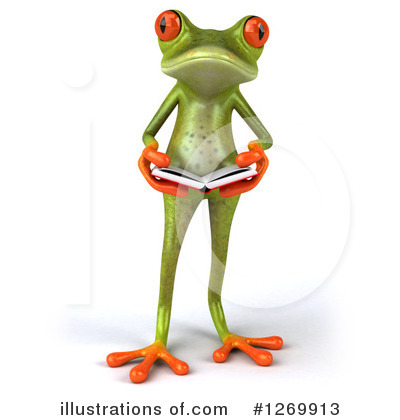 Green Frog Clipart #1269913 by Julos