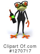 Green Frog Clipart #1270717 by Julos