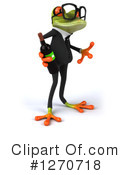 Green Frog Clipart #1270718 by Julos