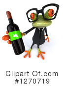 Green Frog Clipart #1270719 by Julos