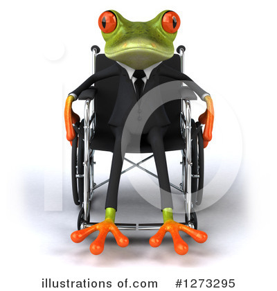 Green Frog Clipart #1273295 by Julos