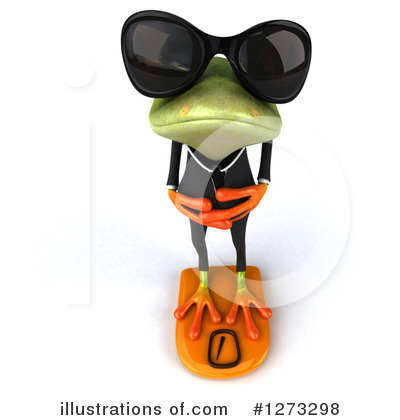 Frog Clipart #1273298 by Julos