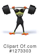 Royalty-Free (RF) Green Frog Clipart Illustration #1273303