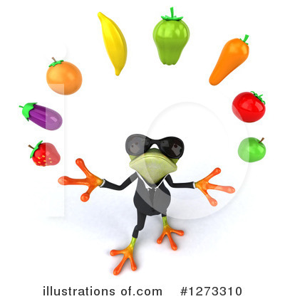 Formal Frog Clipart #1273310 by Julos