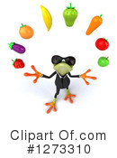 Green Frog Clipart #1273310 by Julos