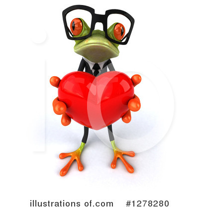 Formal Frog Clipart #1278280 by Julos