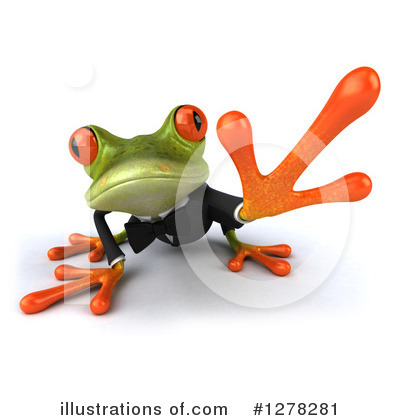Formal Frog Clipart #1278281 by Julos