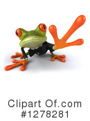 Green Frog Clipart #1278281