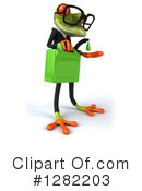 Green Frog Clipart #1282203 by Julos
