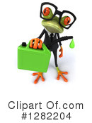 Green Frog Clipart #1282204 by Julos