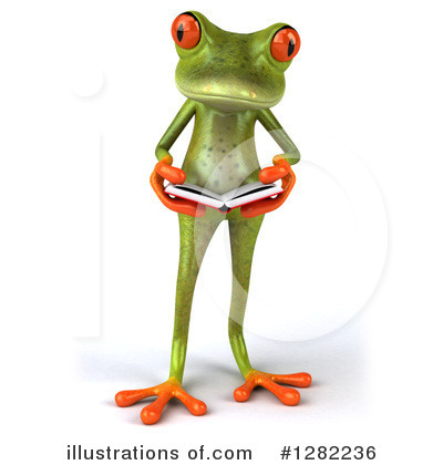 Green Frog Clipart #1282236 by Julos