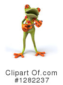 Royalty-Free (RF) Green Frog Clipart Illustration #1282237