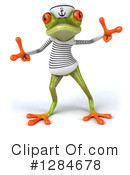 Green Frog Clipart #1284678 by Julos