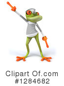 Green Frog Clipart #1284682 by Julos