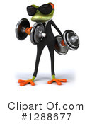 Green Frog Clipart #1288677 by Julos