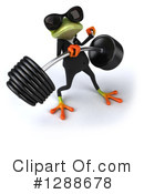 Green Frog Clipart #1288678 by Julos