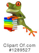 Green Frog Clipart #1289527 by Julos