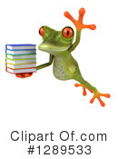 Green Frog Clipart #1289533 by Julos