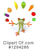 Green Frog Clipart #1294286 by Julos