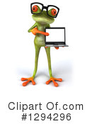 Green Frog Clipart #1294296 by Julos