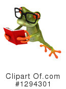 Green Frog Clipart #1294301 by Julos