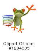 Green Frog Clipart #1294305 by Julos
