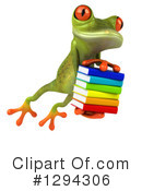 Green Frog Clipart #1294306 by Julos