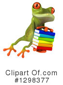 Green Frog Clipart #1298377 by Julos