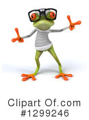 Green Frog Clipart #1299246 by Julos