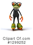Green Frog Clipart #1299252 by Julos