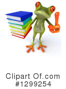 Green Frog Clipart #1299254 by Julos