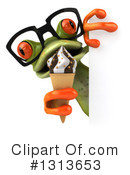 Green Frog Clipart #1313653 by Julos