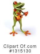 Green Frog Clipart #1315130 by Julos