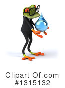 Green Frog Clipart #1315132 by Julos