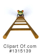 Green Frog Clipart #1315139 by Julos