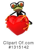 Green Frog Clipart #1315142 by Julos