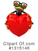 Green Frog Clipart #1315146 by Julos
