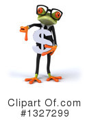 Green Frog Clipart #1327299 by Julos