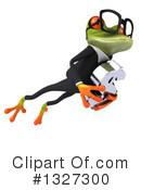 Green Frog Clipart #1327300 by Julos