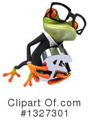 Green Frog Clipart #1327301 by Julos