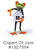 Green Frog Clipart #1327304 by Julos